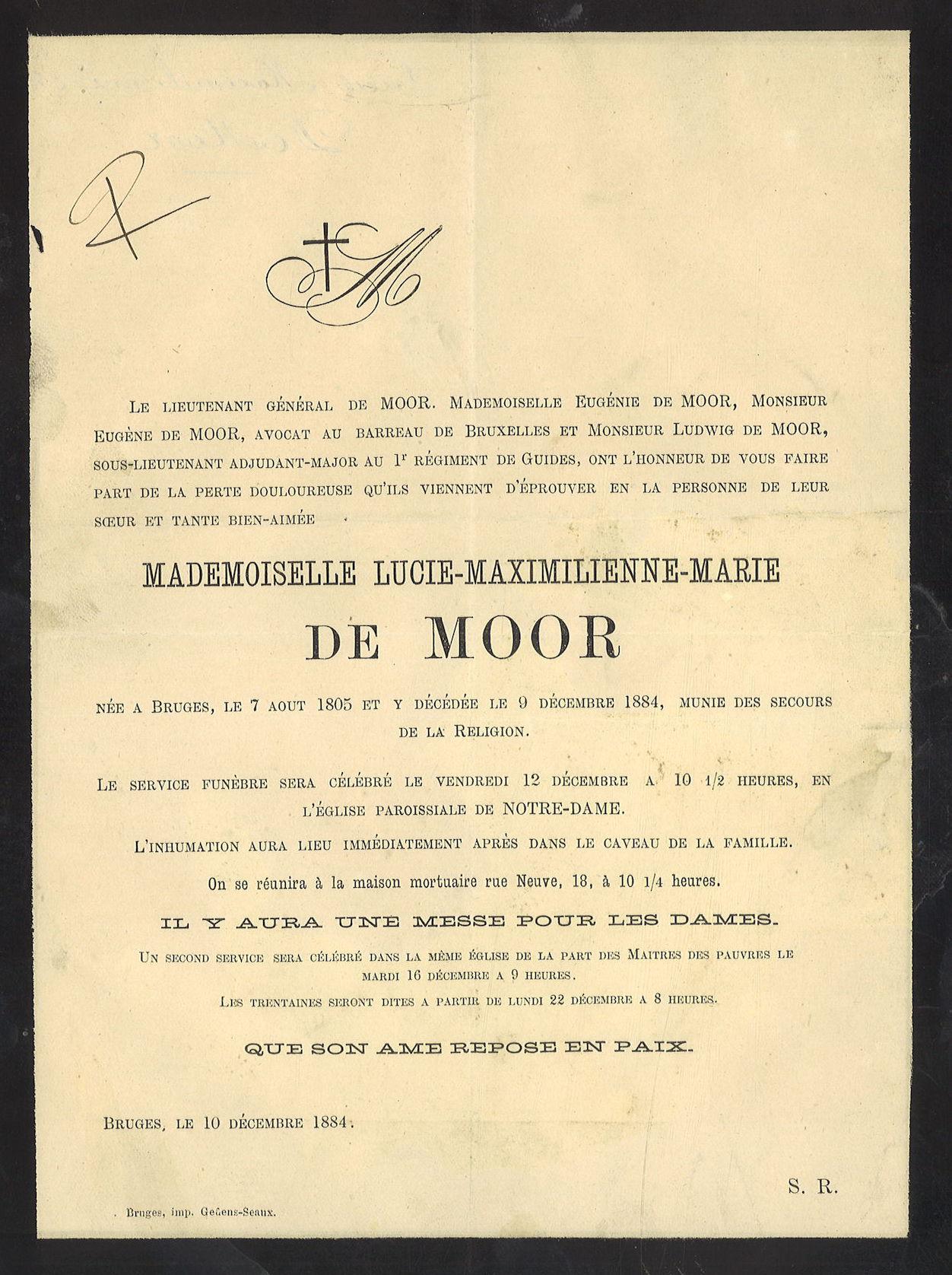 Lucie-Maximilienne-Marie De Moor