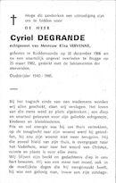 Cyriel Degrande