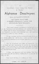 Alphonse Deschryver