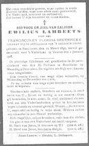 Lambeets Emilius