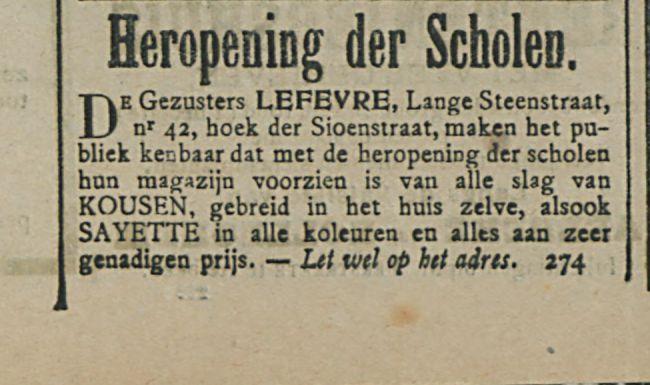 Heropening der Scholen