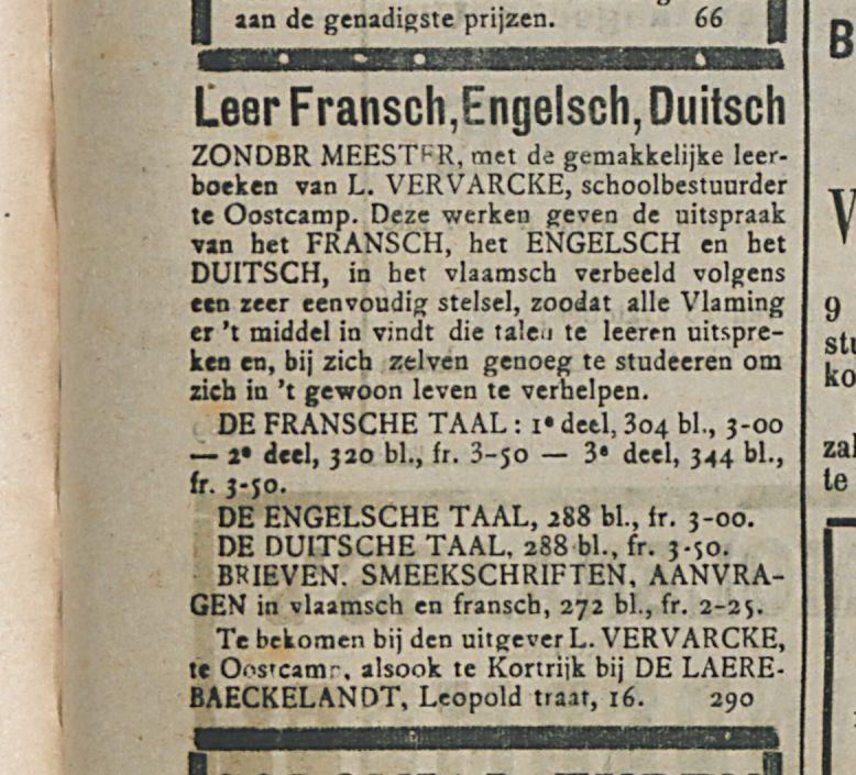 Leer Fransch Engelsch Duitsch