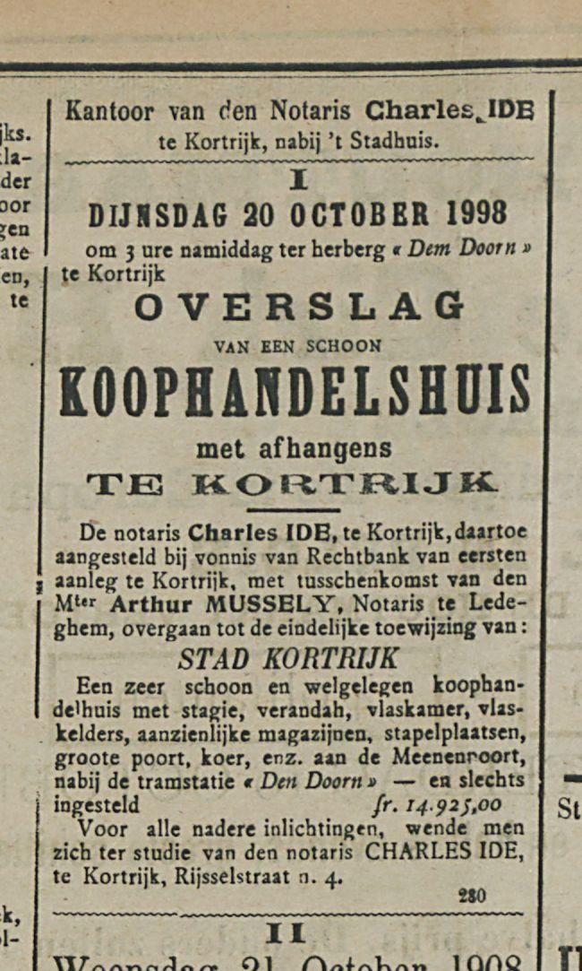 KOOPHANDELSHUIS