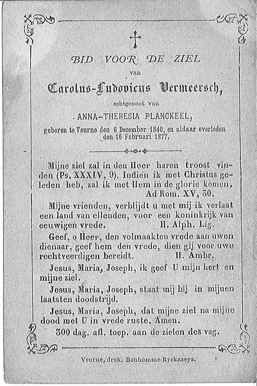 Carolus-Ludovicus Vermeersch