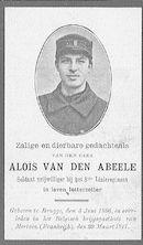 Aloïs Van Den Abeele