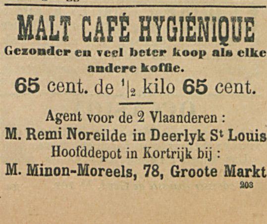 MALT CAFE HYGIENIQUE