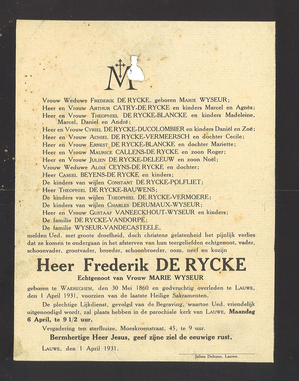 Frederik De Rycke