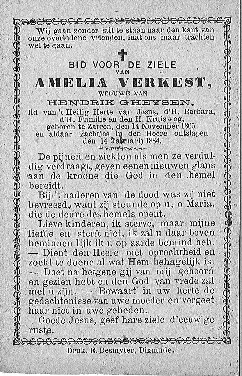 Amelia Verkest