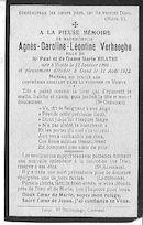 Agnès-Caroline-Léontine Verhaeghe