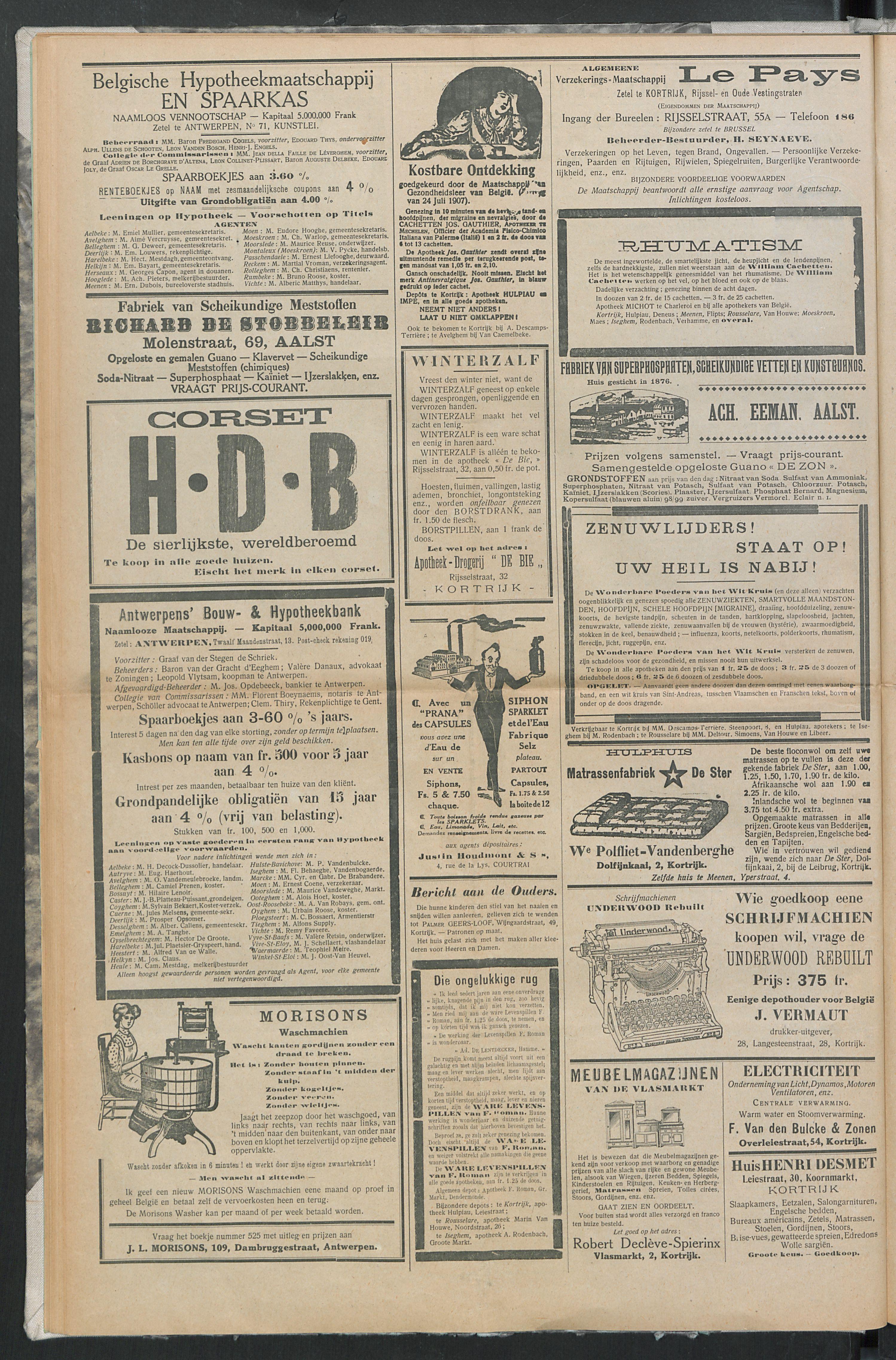 Het Kortrijksche Volk 1914-03-08 p8