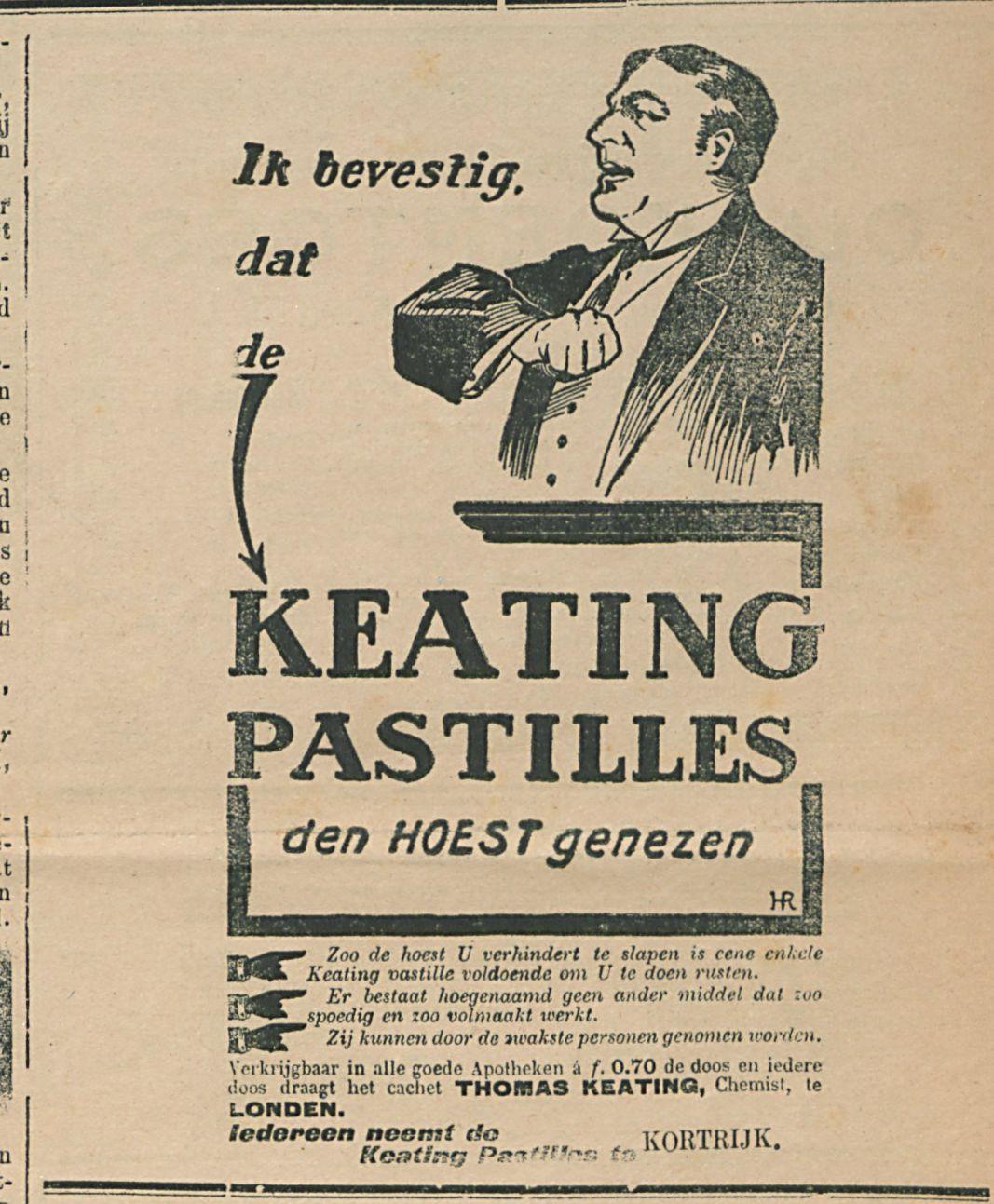 KEATING PASTILLES