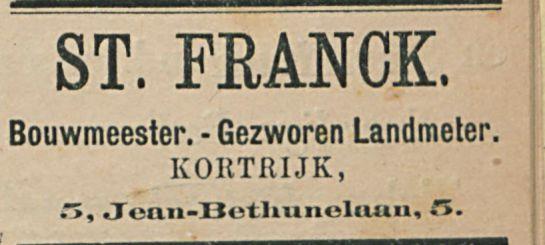 ST. FRANCK