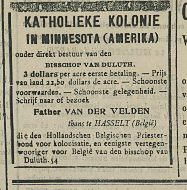 KATHOLIEKE KOLONIE