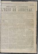 L'echo De Courtrai 1873-12-04