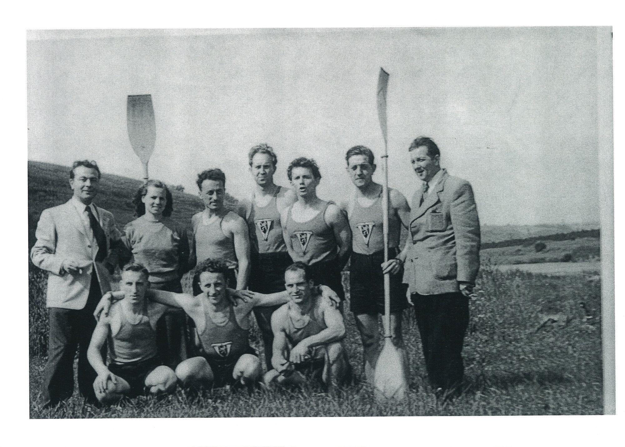 Groepsfoto Kajakkers