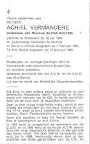 Achiel Vermandere