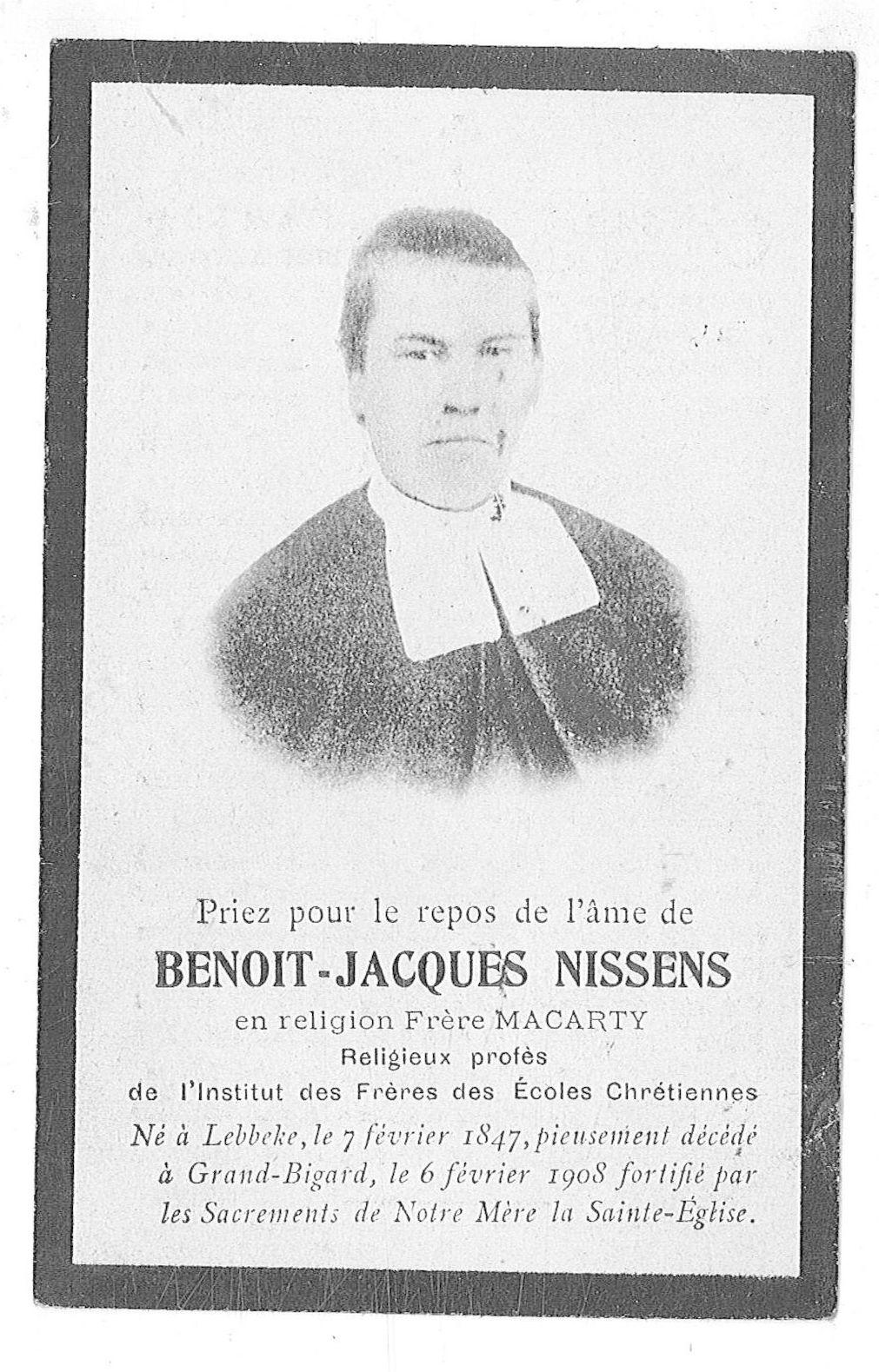 Benoit-Jacques Nissens