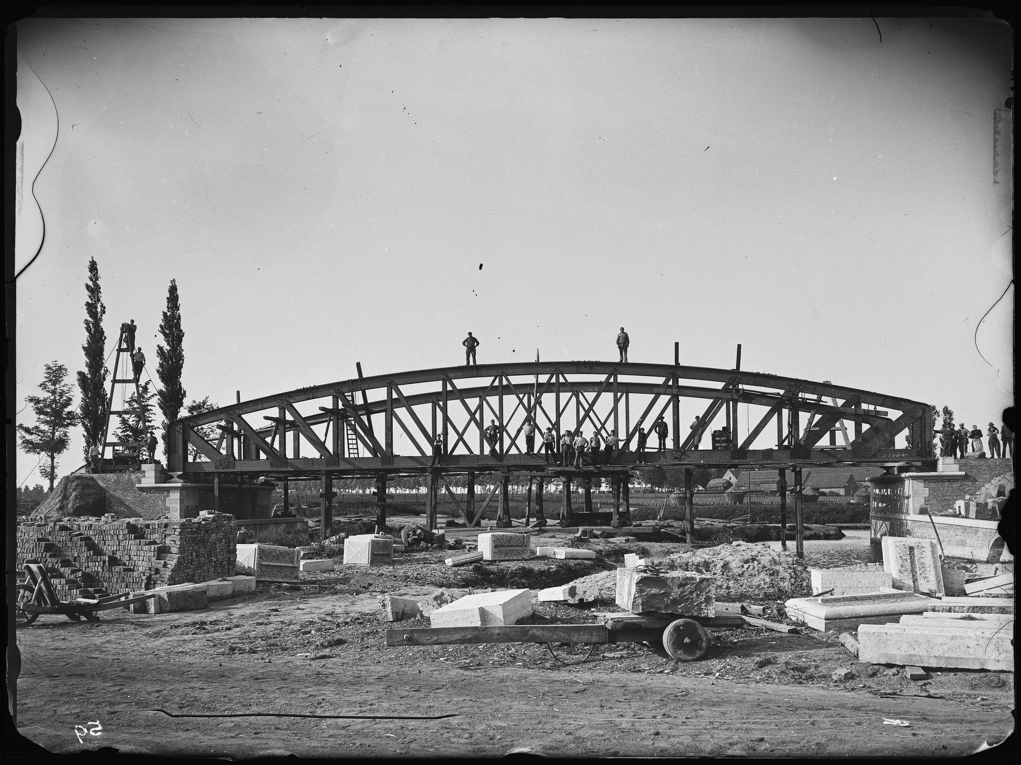 Groeningebrug in 1895