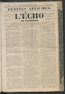 L'echo De Courtrai 1849-12-18