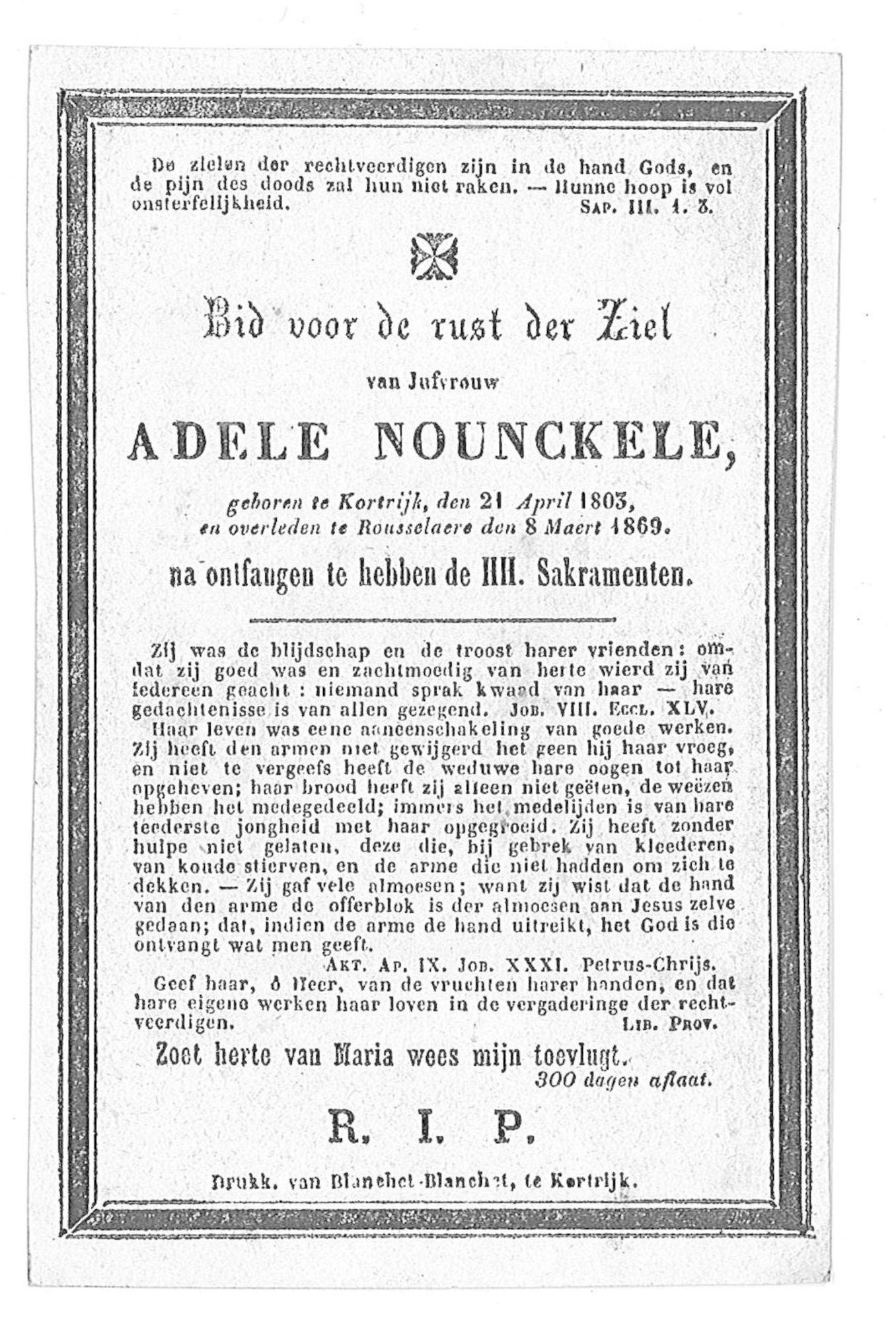 Adele Nounckele