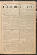 L'echo De Courtrai 1914-02-05
