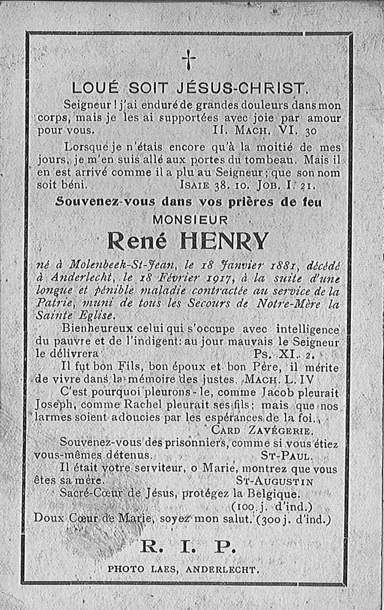 René Henry
