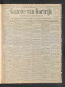 Gazette Van Kortrijk 1902-10-05
