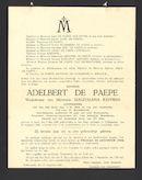Adelbert De Paepe
