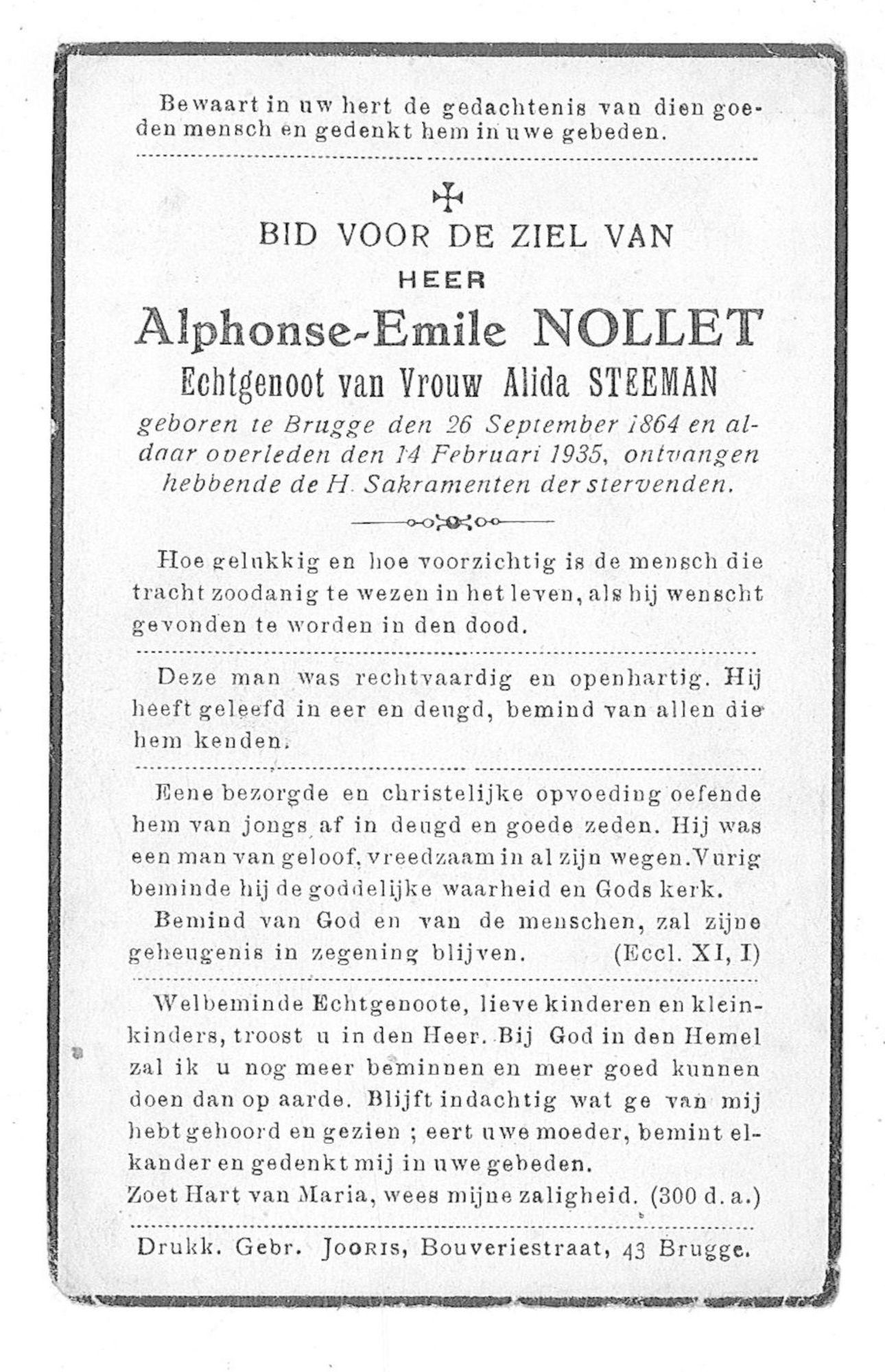 Alphonse-Emile Nollet