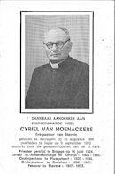 Cyriel Van Hoenackere