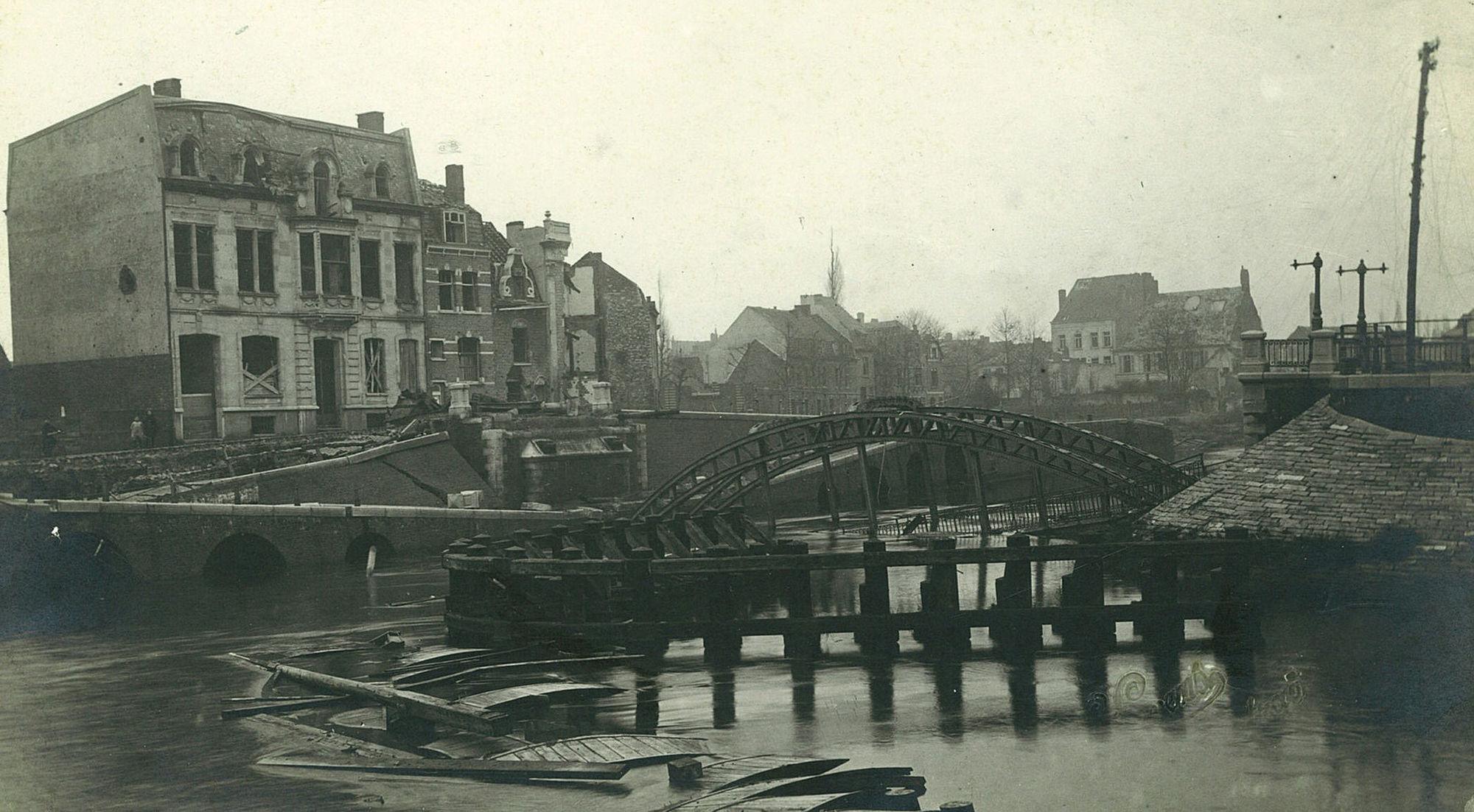 Reepbrug in 1918