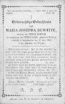 Maria-Josepha Dewitte