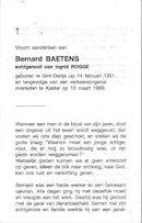 Bernard Baetens