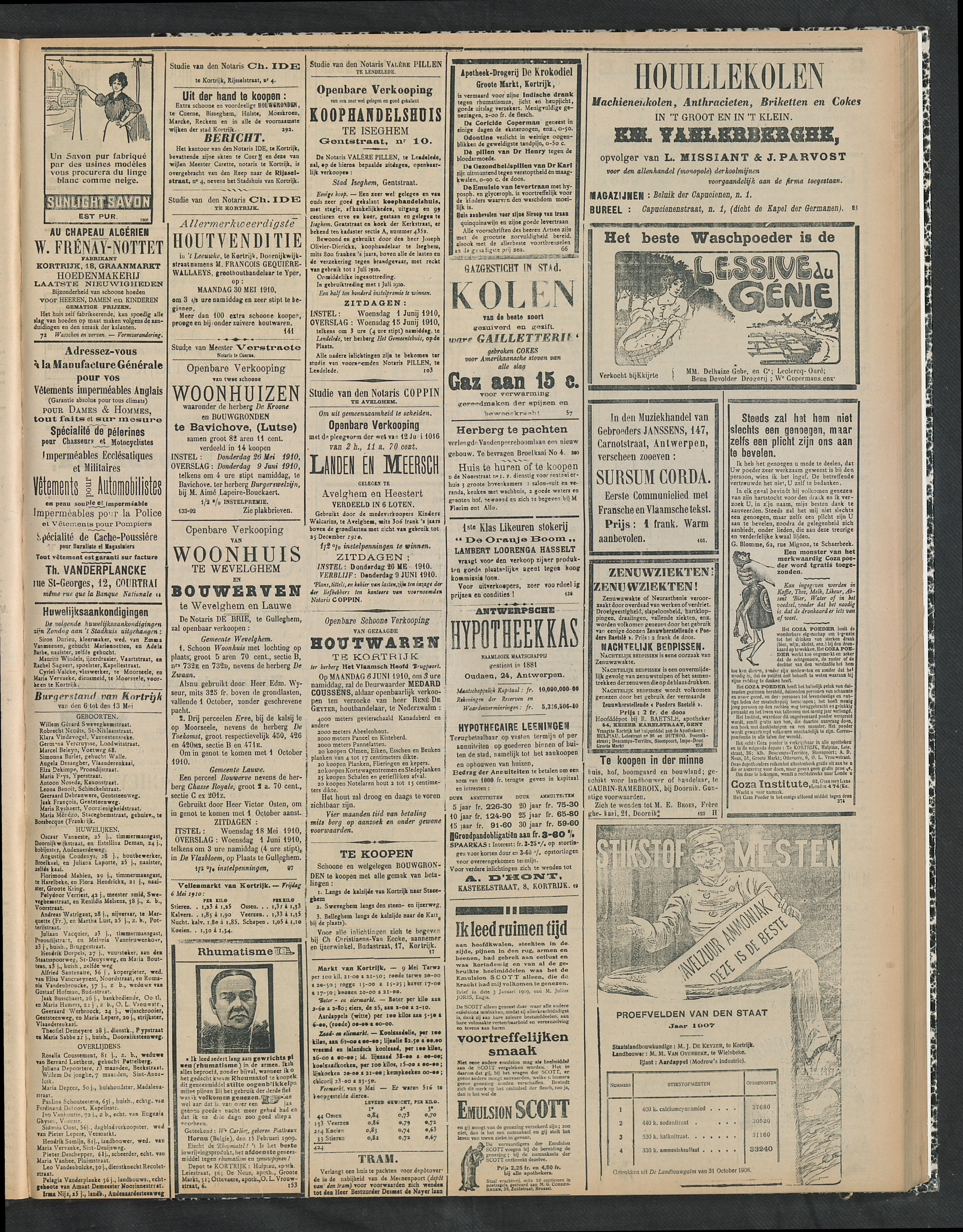 Gazette Van Kortrijk 1910-05-15 p3