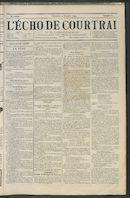 L'echo De Courtrai 1894-01-21