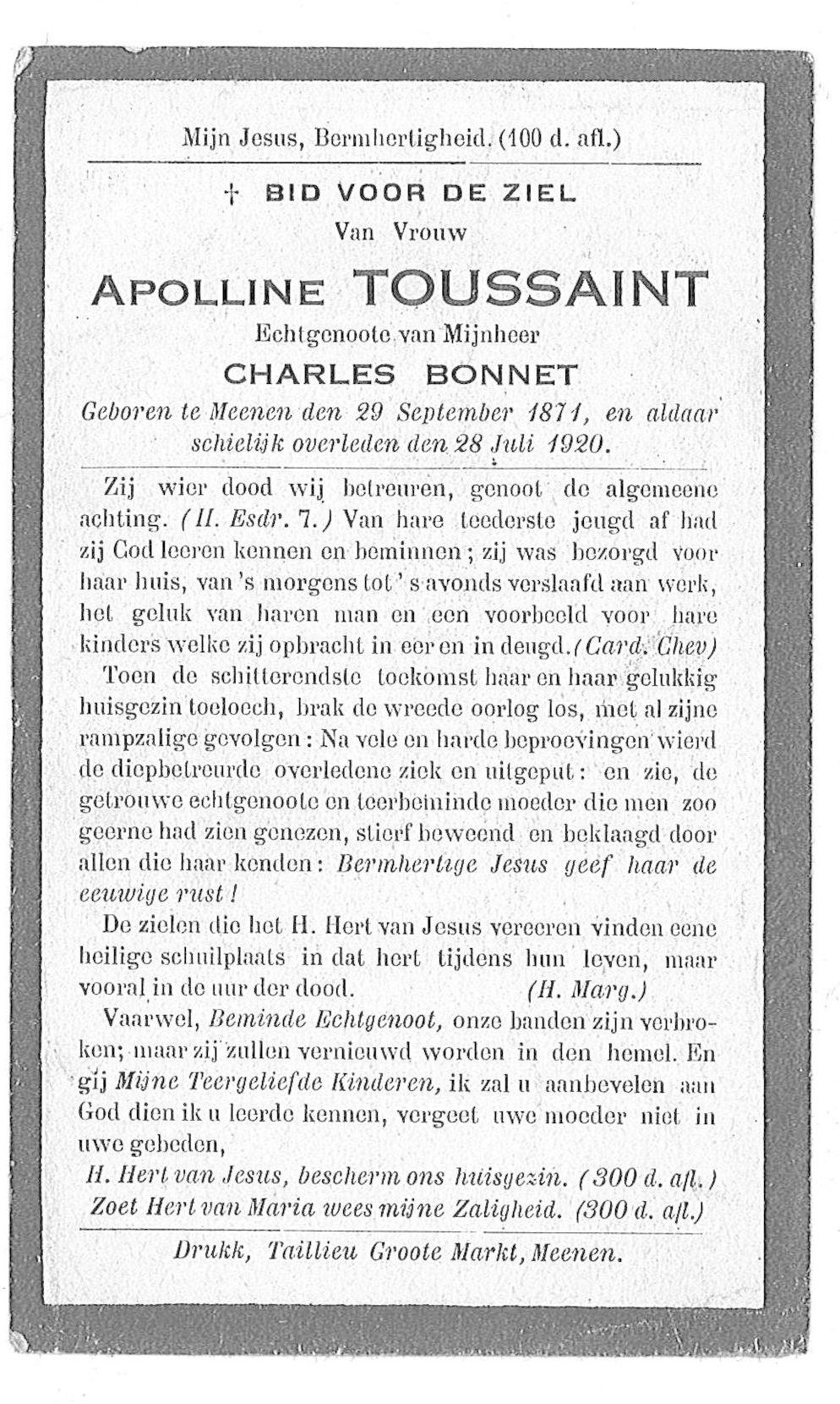 Apolline Toussaint