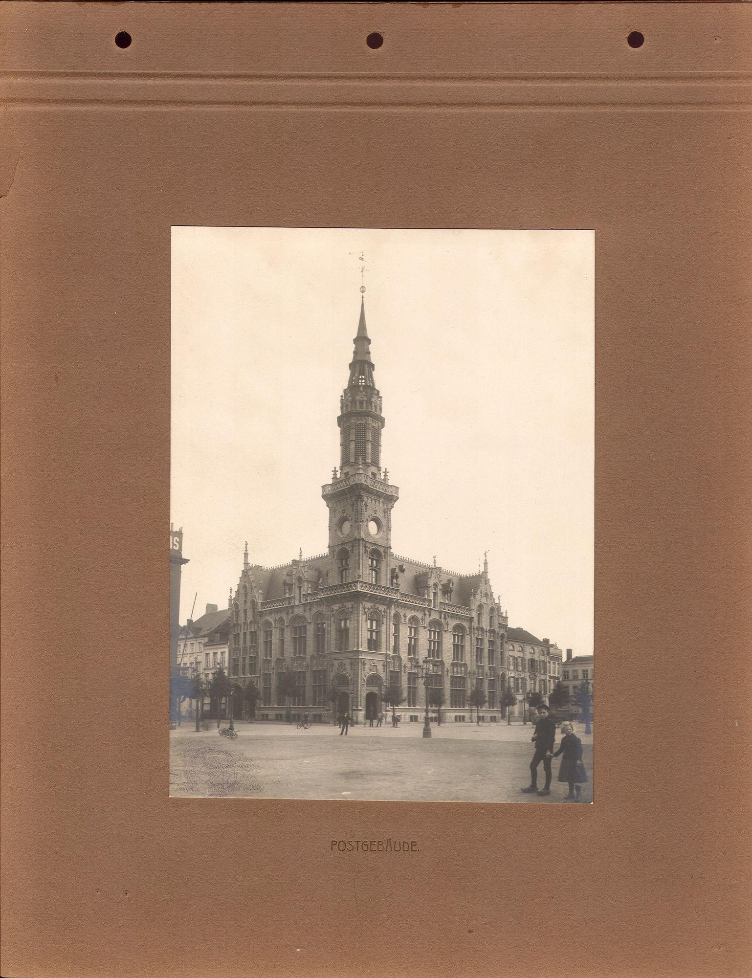 Postgebouw in 1916