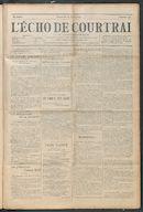 L'echo De Courtrai 1914-04-19