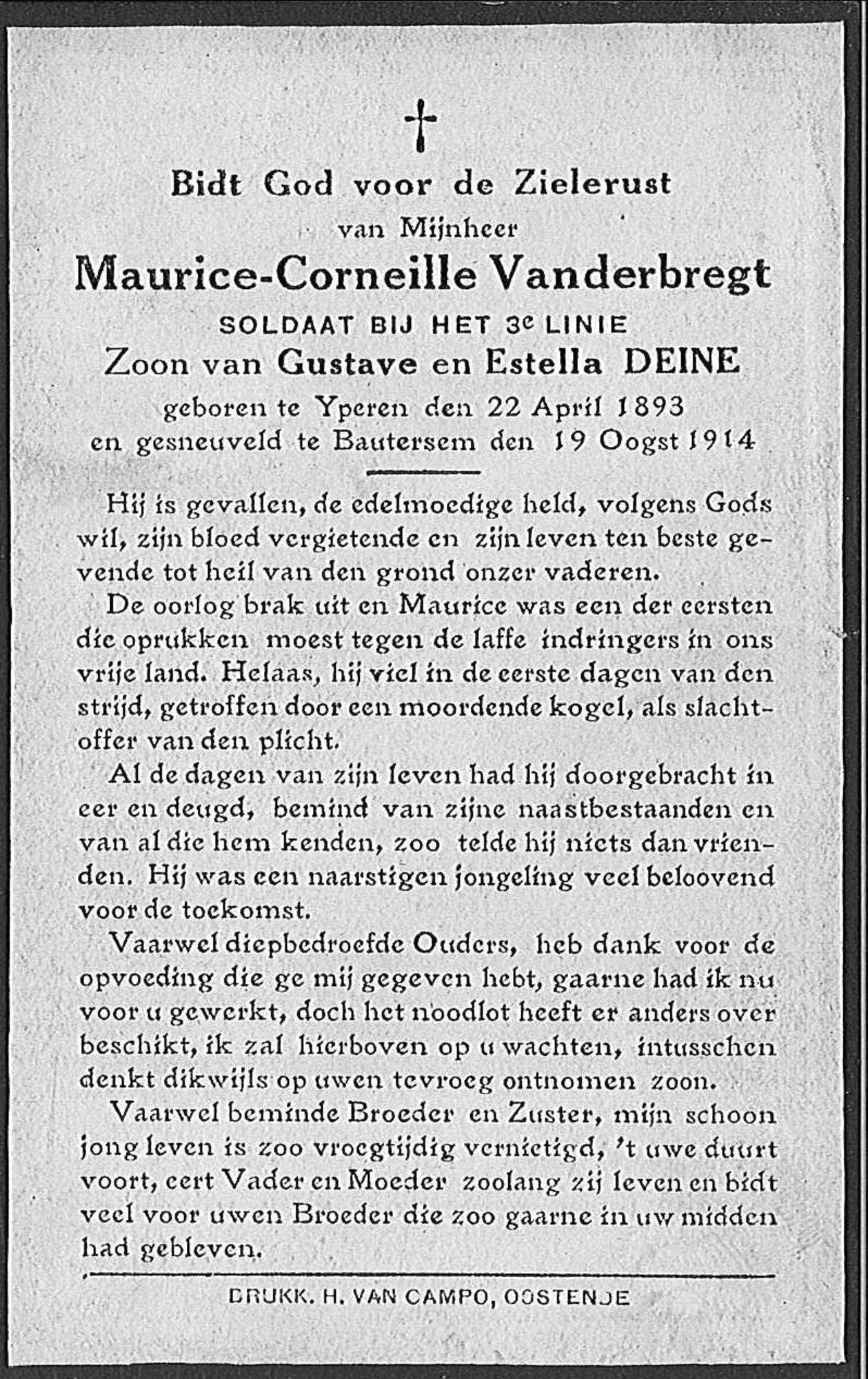 Maurice-Corneille Vanderbregt