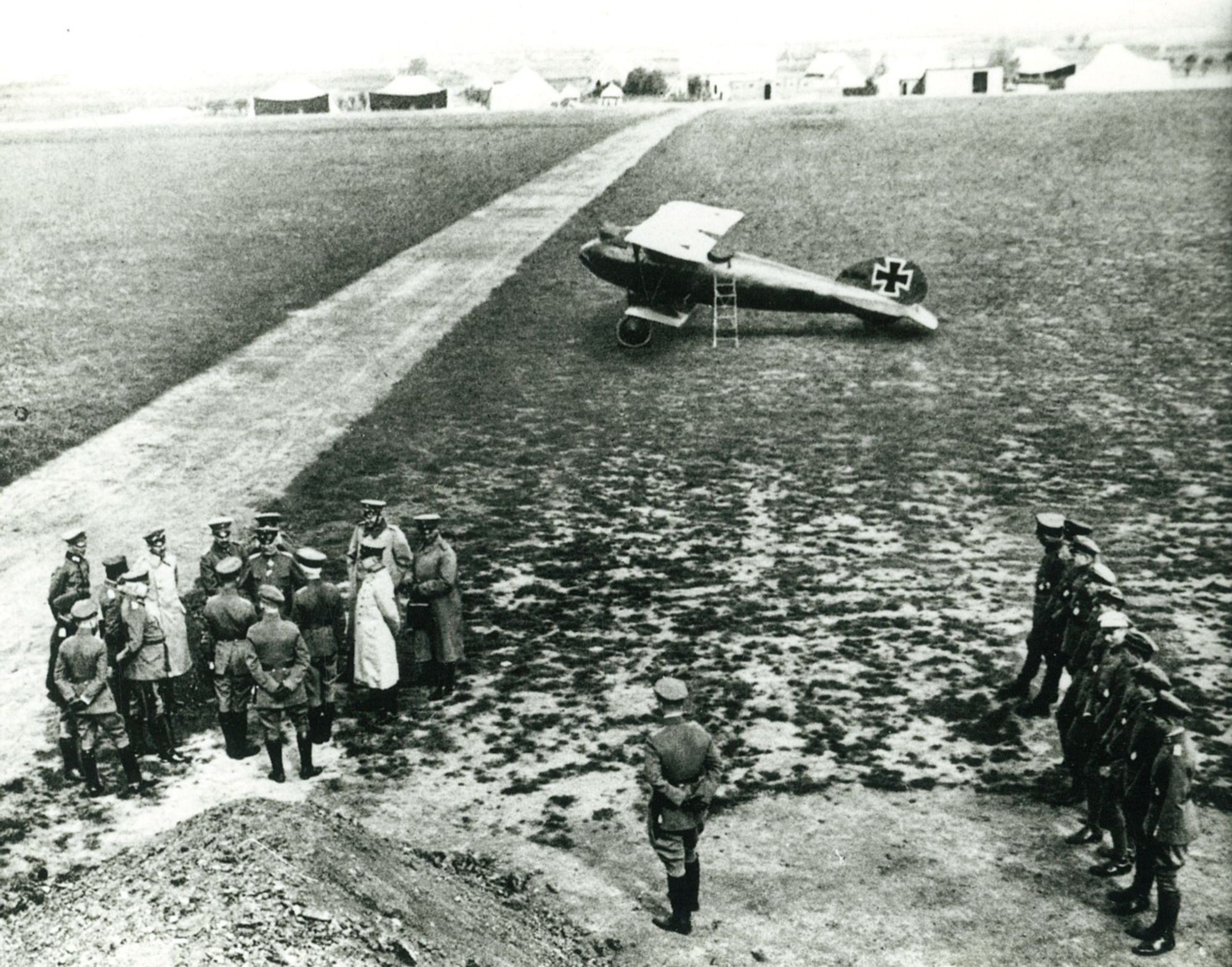 Vliegveld Marke in 1917