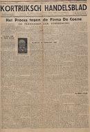 Kortrijksch Handelsblad 18 februari 1945 speciaal nummer