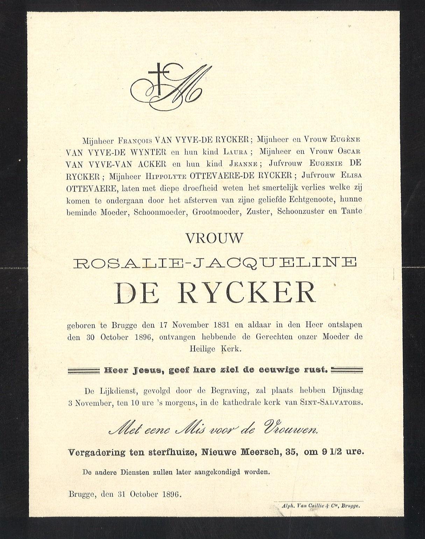 Rosalie-Jacqueline De Rycker
