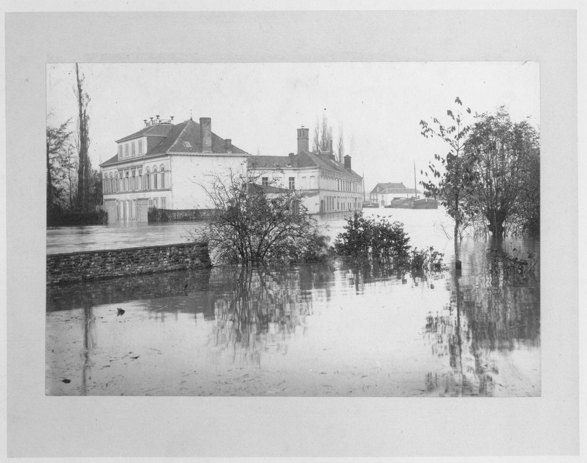 Overstroming Leie 1897