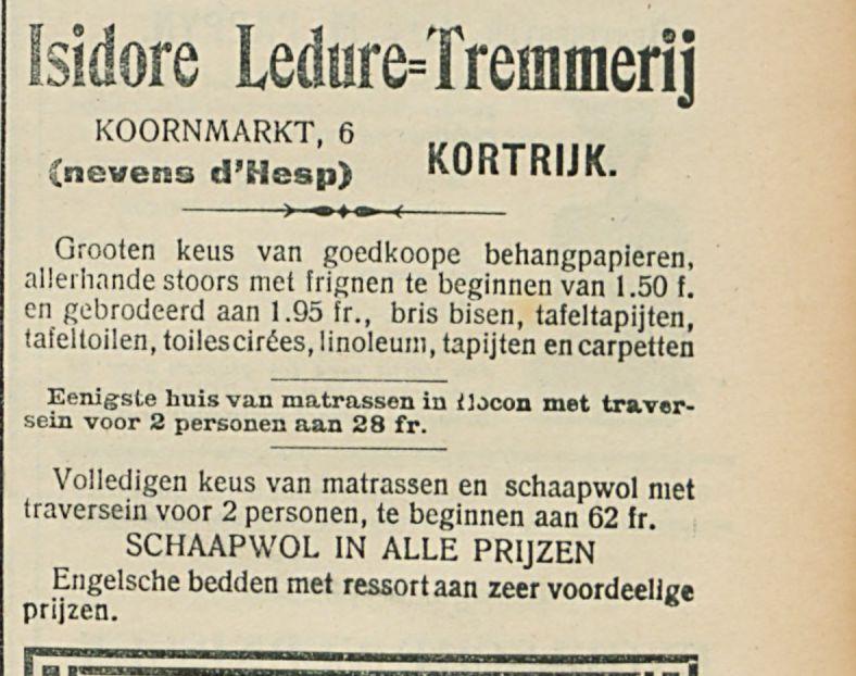 Isidore Ledure=Tremmer