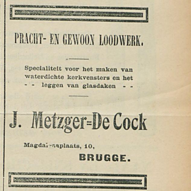 J Metzger De Cock