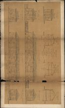 Bouwplannen van Douanekantoren en een stapelhuis in de Tolstraat en aan het station van Kortrijk, opgemaakt door L. Degeyne, 1859-1932
