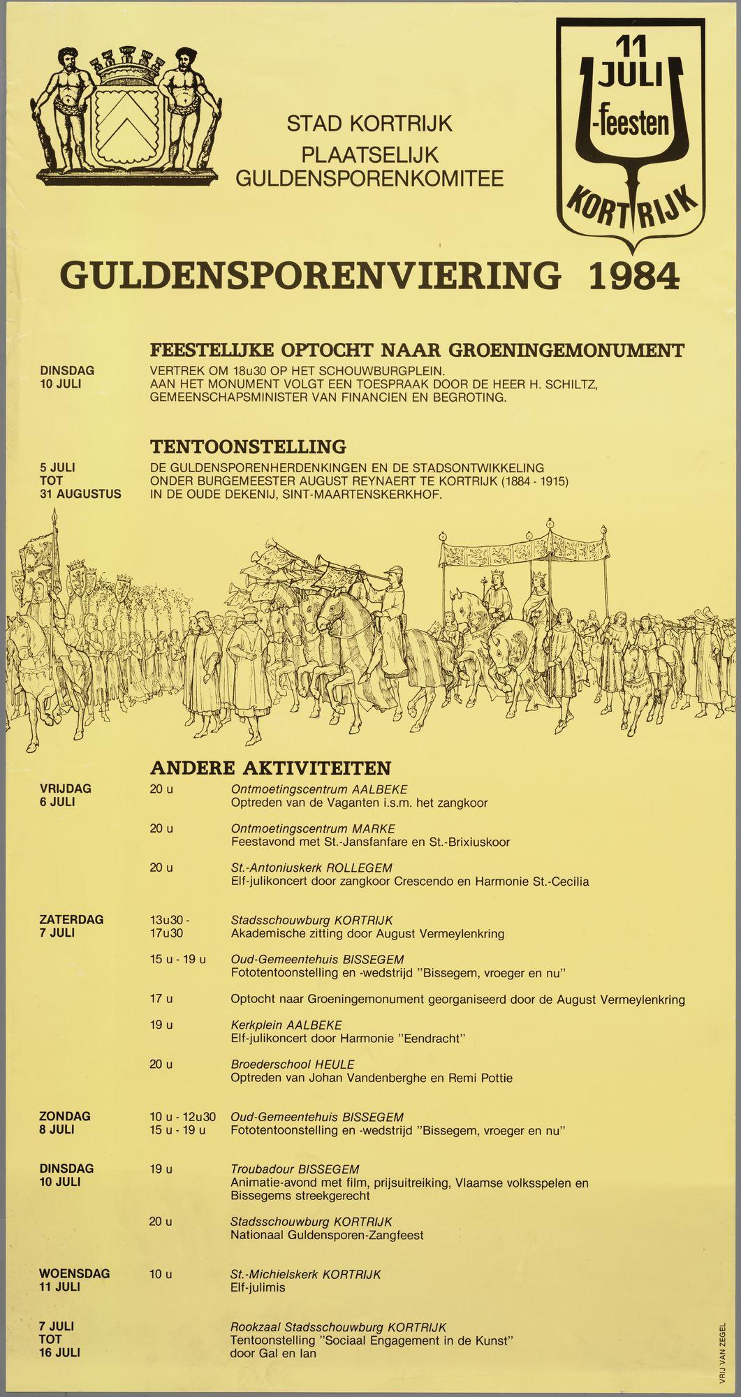 Guldensporenviering 1984