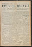 L'echo De Courtrai 1910-12-04