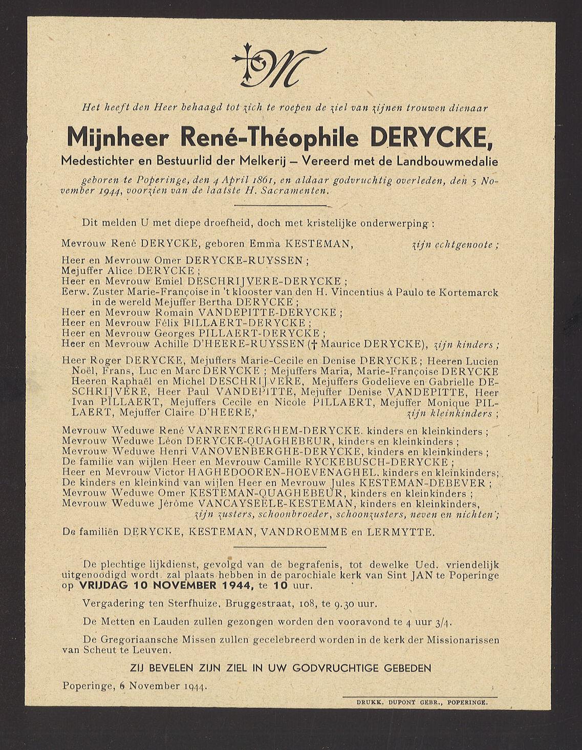 René-Théophile Derycke