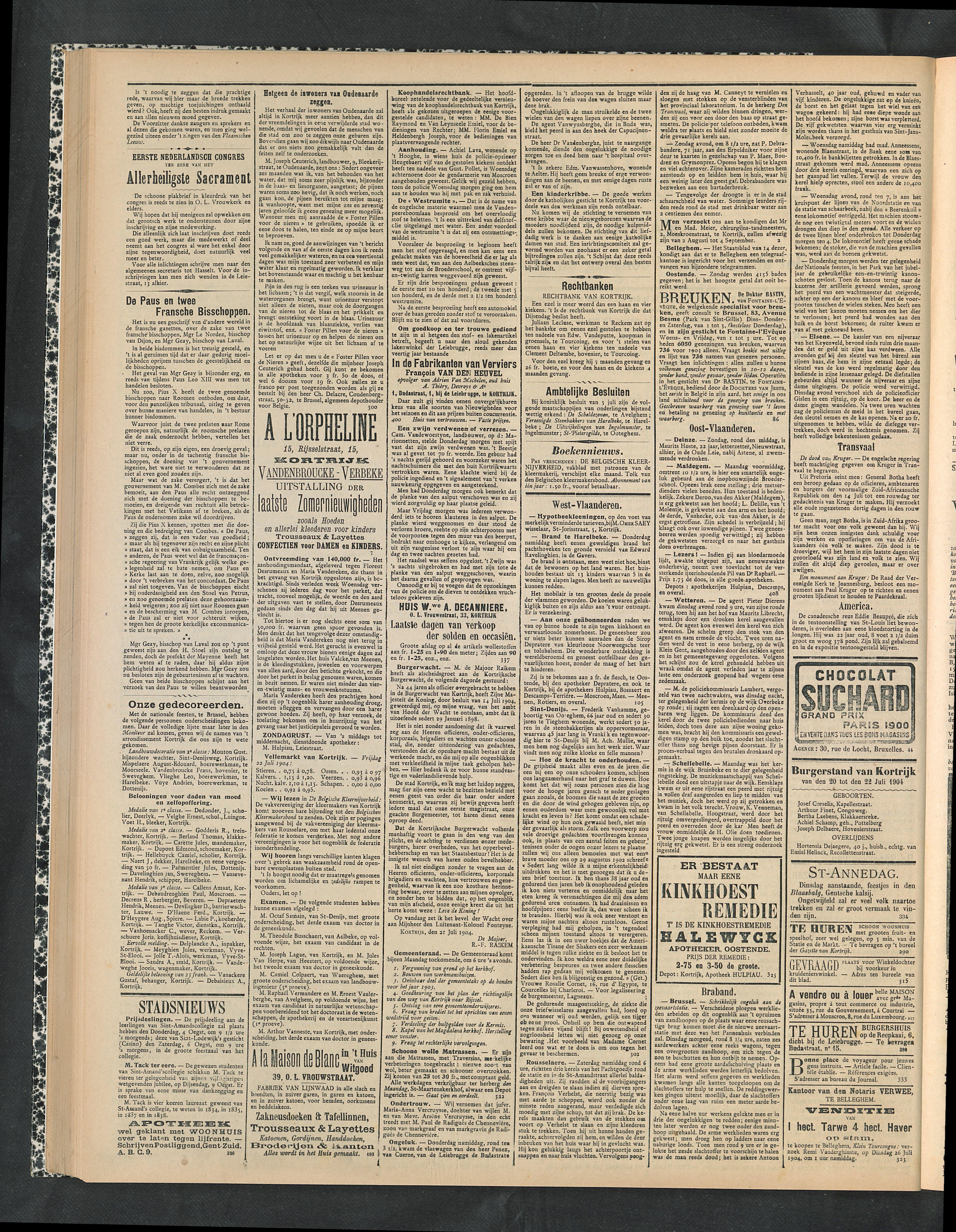 Gazette Van Kortrijk 1904-07-24 p2